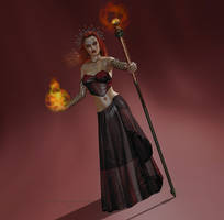 ..::The Red Queen::.. by Nythande