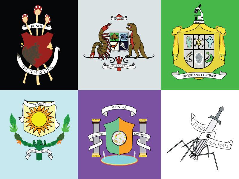 Five Kingdoms of Life