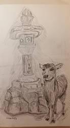 Nara Deer Graphite