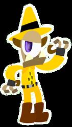 Ranger Jinx (Halloween Art Jam) by KofiKrumble