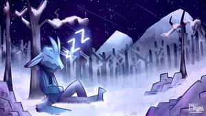 Sleeping in the Woods
