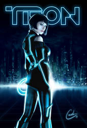TRON - Olivia Wilde by toddworld