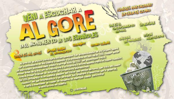 Al Gore Fictional website by ~KrakenReloaded on deviantART