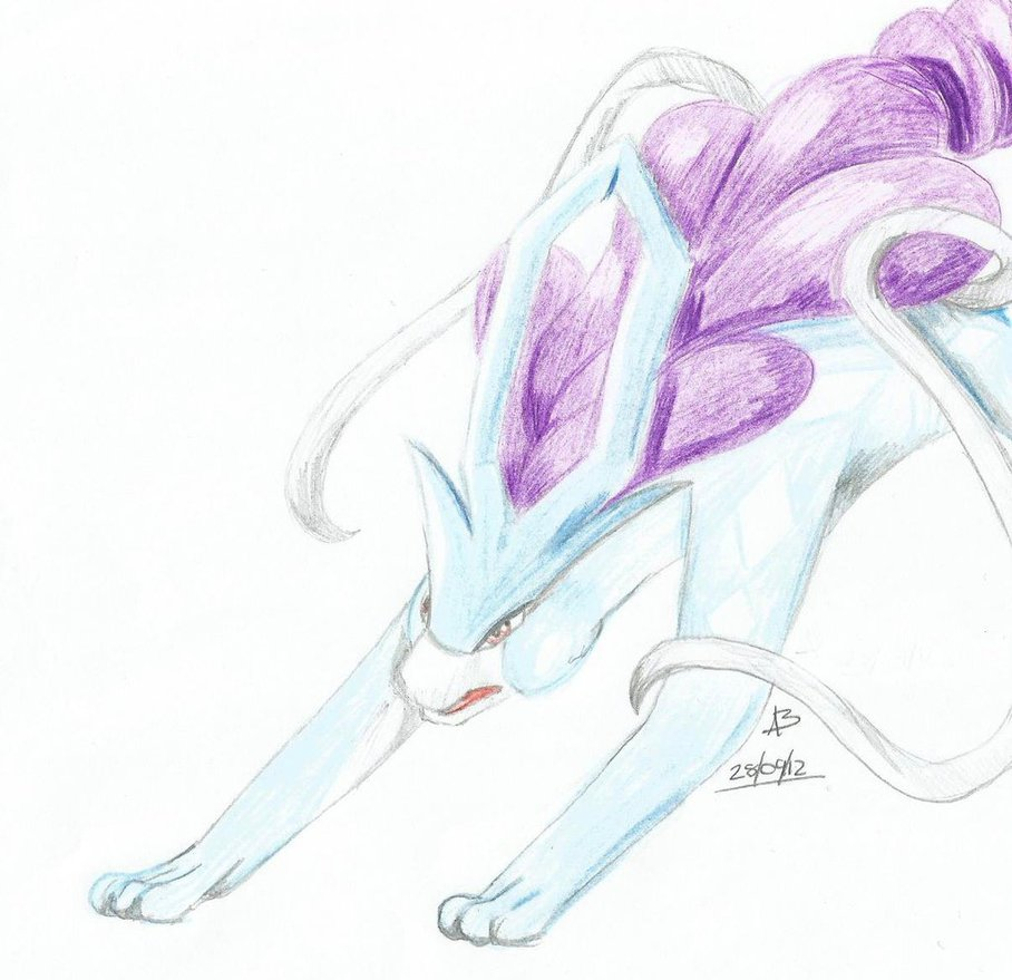 Suicune by she0wolf