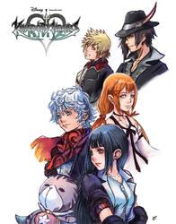 Kingdom Hearts Union X Dandelions