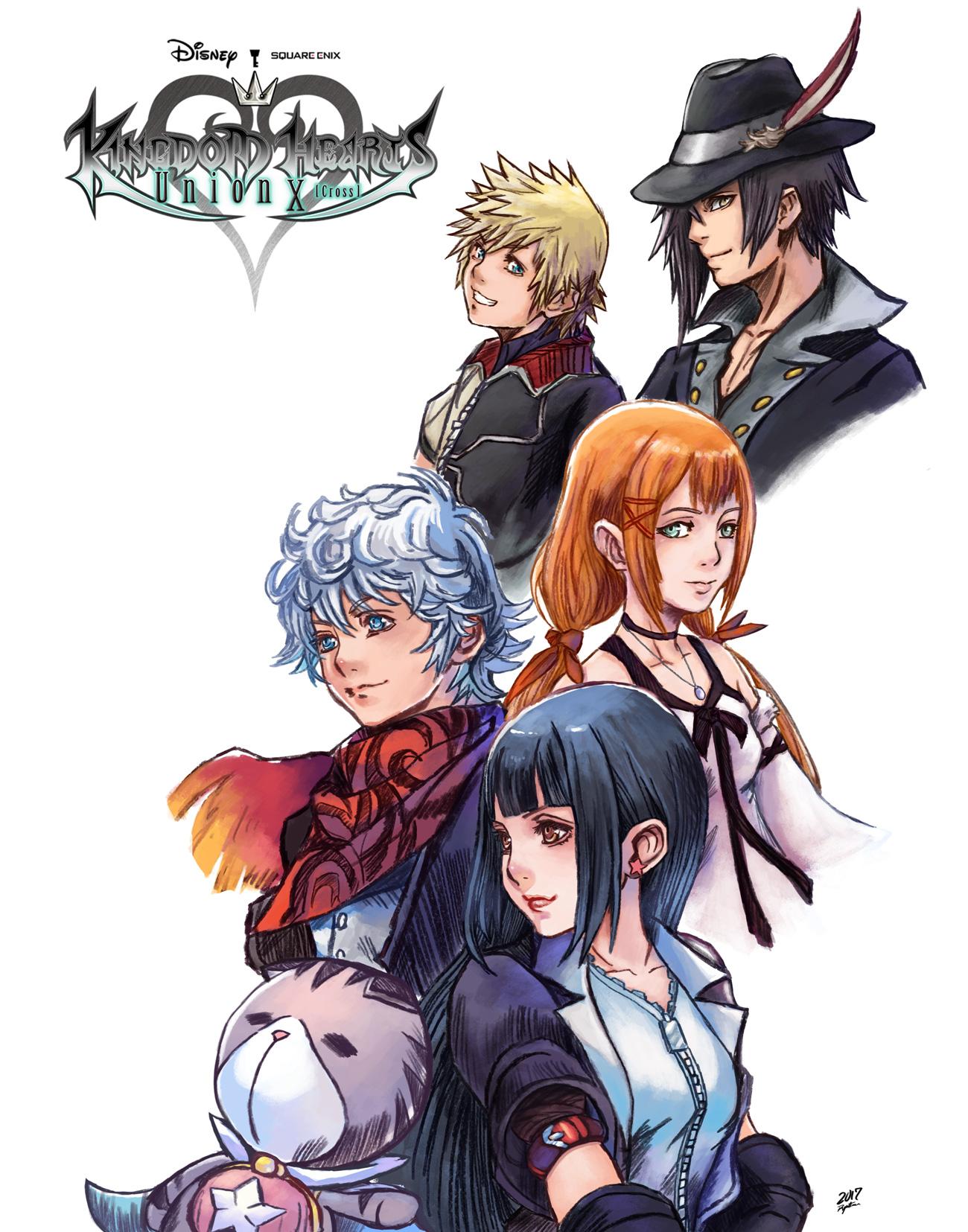 Kingdom Hearts Union X Dandelions by Raprankster on DeviantArt