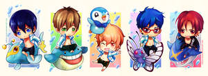 Free! x Pokemon