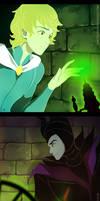 some Maleficent genderbend