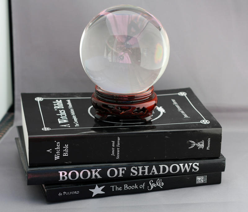 Crystal ball and Spell books by Sassy-Stock on DeviantArt