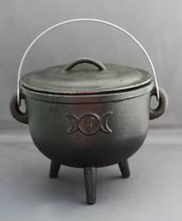 Cauldron lid on - Magic Stock