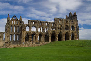 Whitby Abbey III by Sassy-Stock