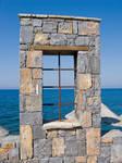 Stone Window Stock