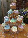 Baby Shower Cupcakes stock 1