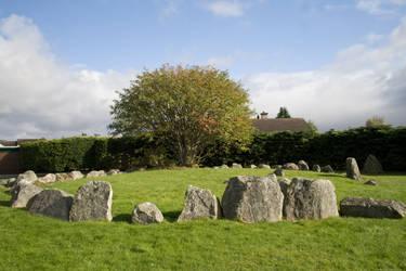 Stone circle stock by Sassy-Stock