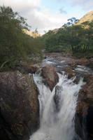 Scottish waterful by Sassy-Stock