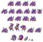 Mega Man ZX Advent: Chabano - Palette 1