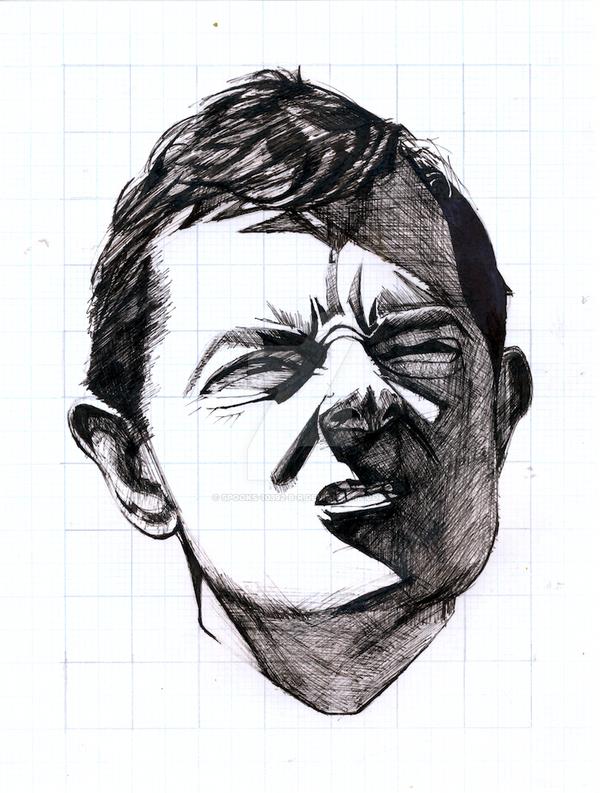 Rowan Atkinson Portrait Study by spooks-10392-B-R