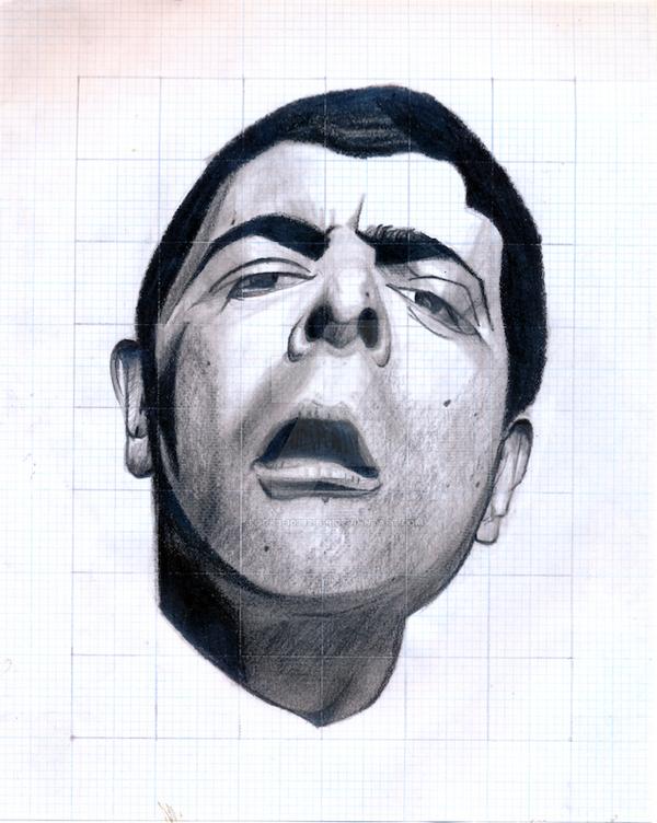 3rd Portrait study of Rowan Atkinson by spooks-10392-B-R