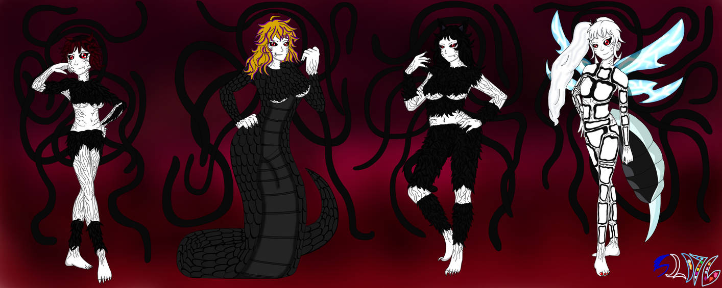 The Lust Reaper -Team RWBY - Grimm Forms by SonicLunaDash76 on