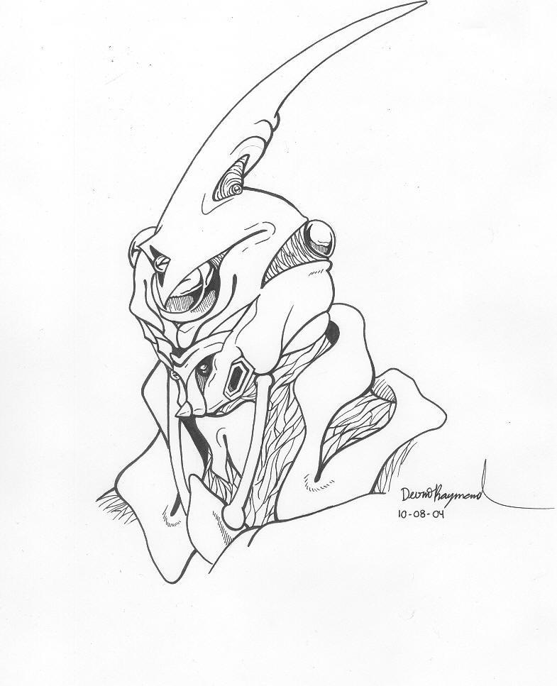 Guyver 0 by OmegaDevin