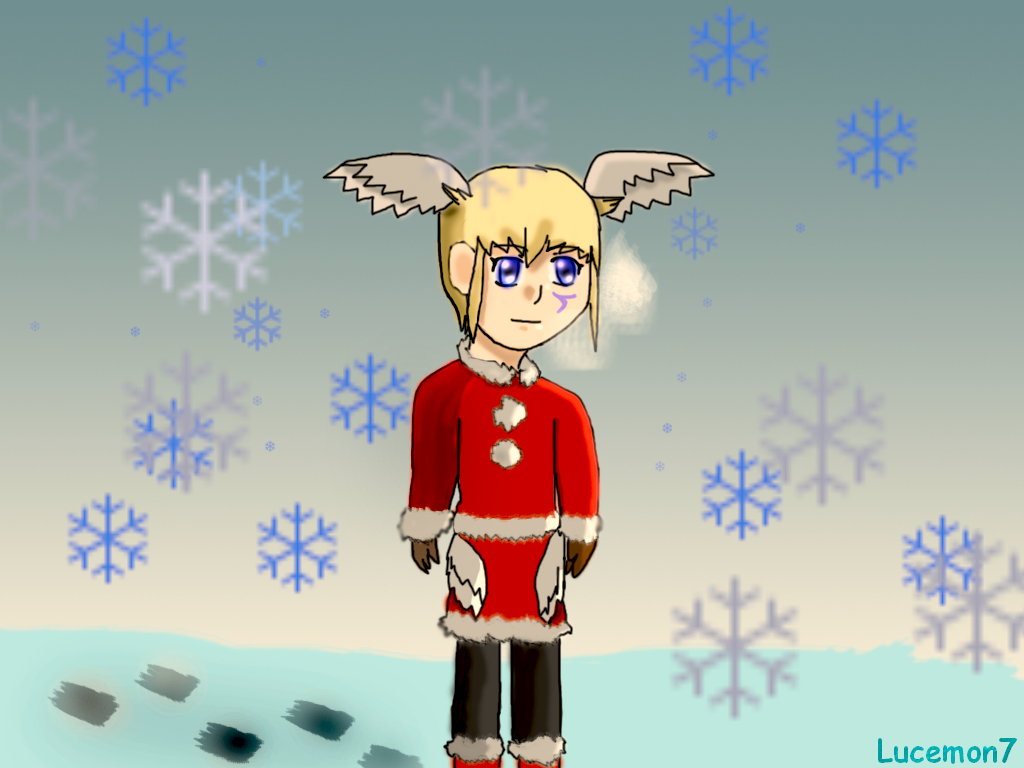 Preview : Lucemon7 Christmas by JackFrost-LCDA