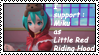 Stamp : I support Miku as Little Red Riding Hood by JackFrost-LCDA