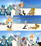 Digimon-Vocaloid - The arrival of Skullgreymon 2/?