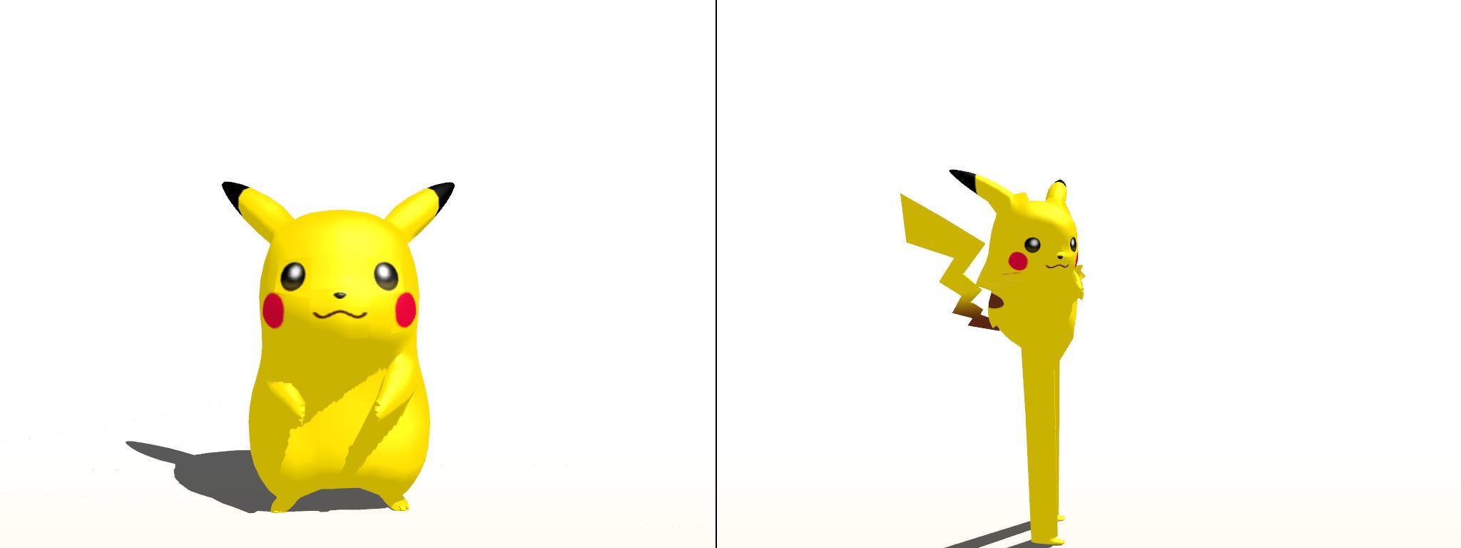 Pikachu and Longchu by JackFrost-LCDA on DeviantArt
