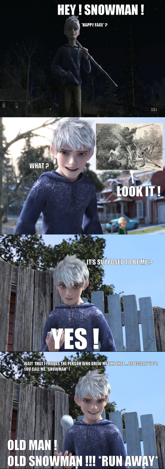 Meme - The true identity (engraving) on Jack Frost by JackFrost-LCDA
