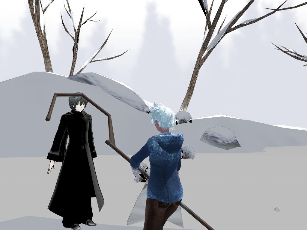 Jack Frost v.s. Pitch Black by JackFrost-LCDA on DeviantArt