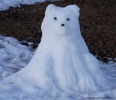 Snow Polar Bear - Kumajiro 1