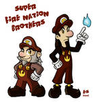 Super Fire Nation Brothers