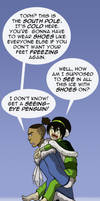 Toph Visits the South Pole by Booter-Freak