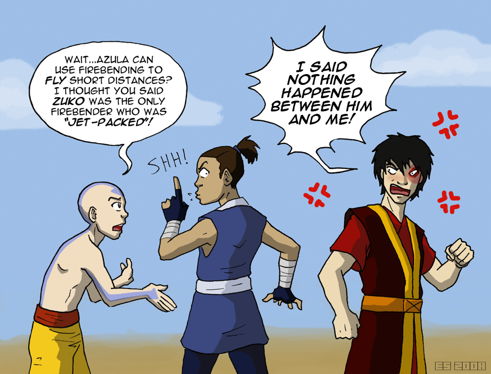Welcome to Day 255 642 aboard the Axiom Zuko And Aang Yaoi