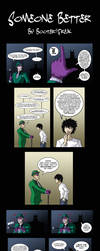 Batman Comic: Someone Better by Booter-Freak