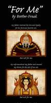 Ozai Comic: 'For Me'