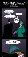 Riddle Me Fist, Batman