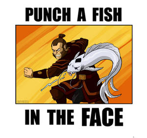 PUNCH A FISH IN THE FACE
