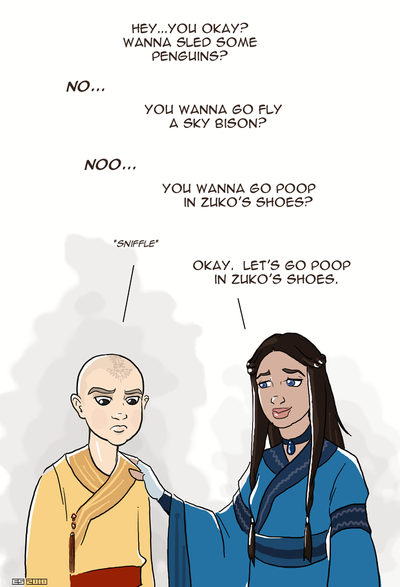 Cheer Up Emo Aang by