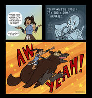 Aang is the Best Guide EVER