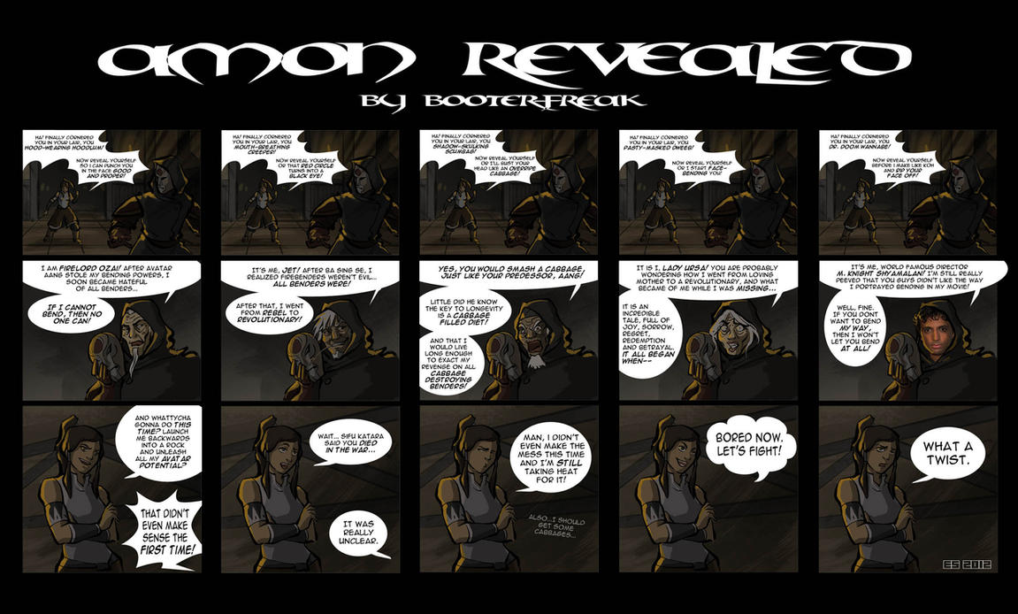 Amon Revealed (slight spoilers) by Booter-Freak