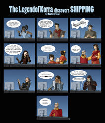 Avatar: LOK Discovers Shipping! by Booter-Freak