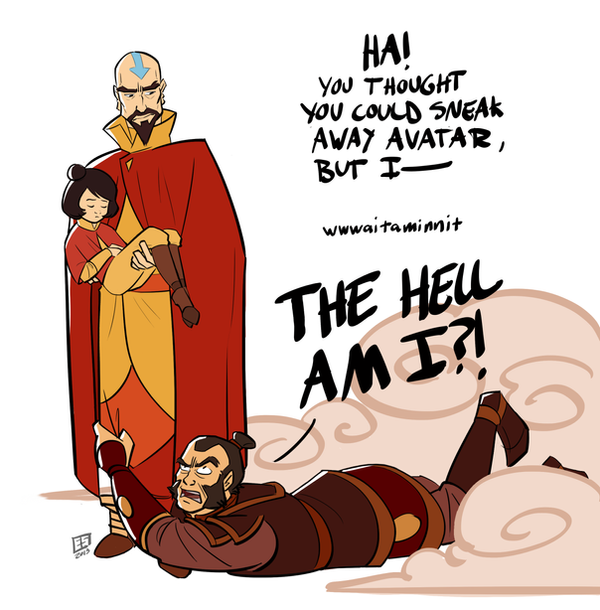 Tenzin Be A Bro by Booter-Freak