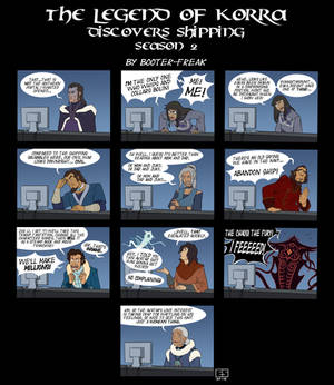 Avatar: LOK Discovers Shipping Season 2