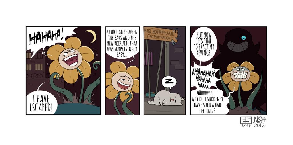 UNDERCOP pg 13 BONUS by Booter-Freak