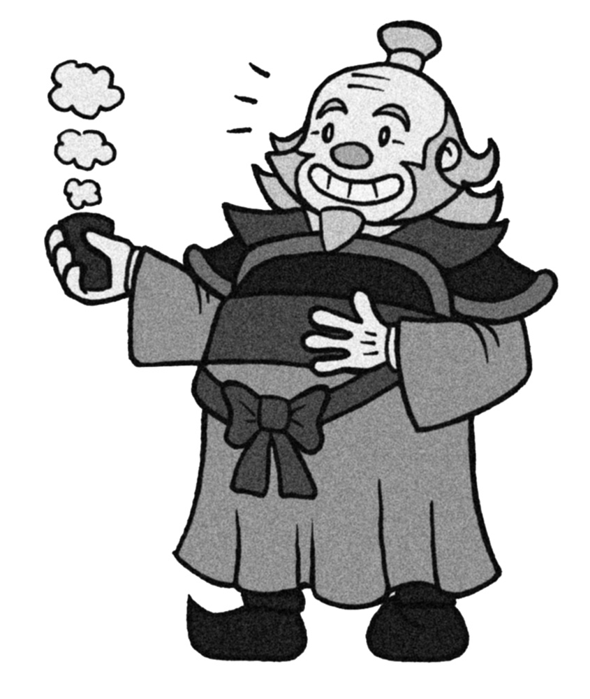 Old Skool Iroh by Booter-Freak