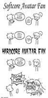 Hardcore Fans Vs Softcore Fans