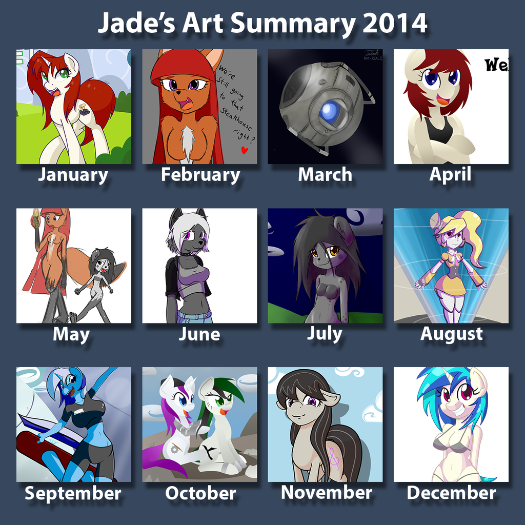 Art Summary 2014 by Nephrited