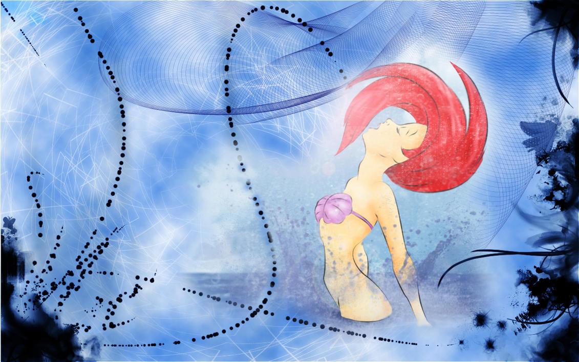Ariel Wallpaper By Puppeteer88