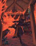 Burning Alchemist's Shop